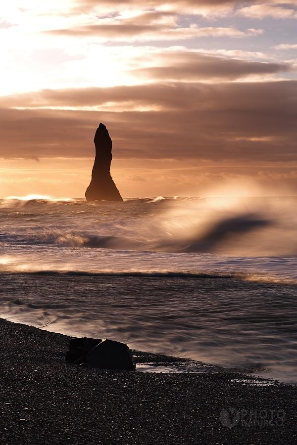 Vík, wild coast