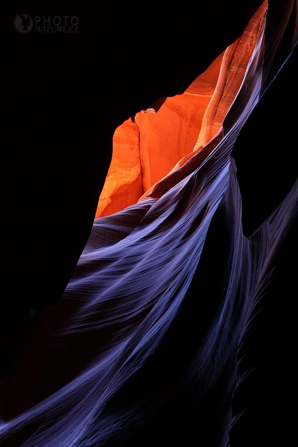 Antelope Canyon, hra barev