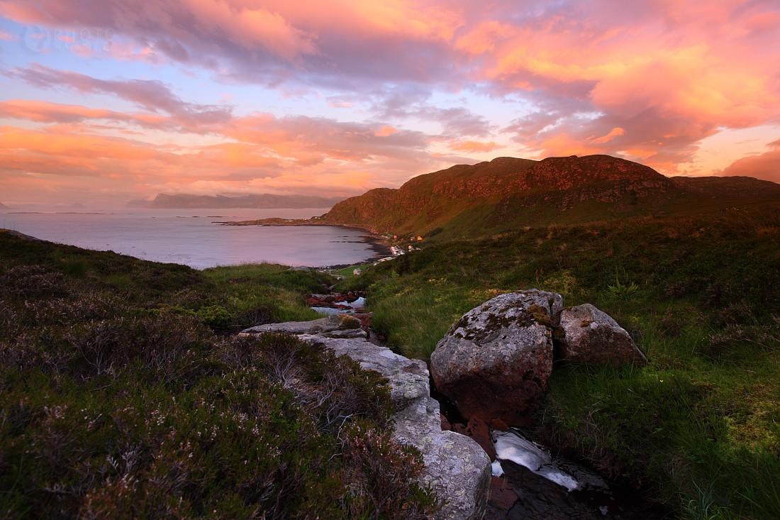 Východ slunce, ostrov Runde