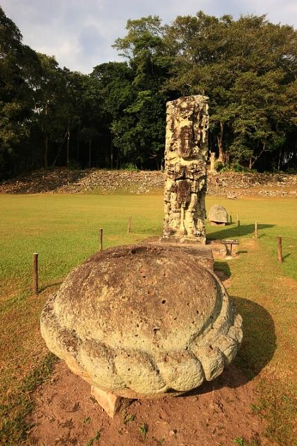 Starobylé město Májů, Copán - Honduras