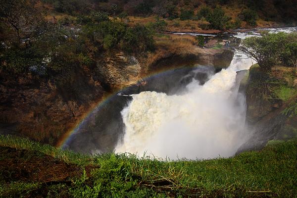 Vodopád Murchison falls, Uganda